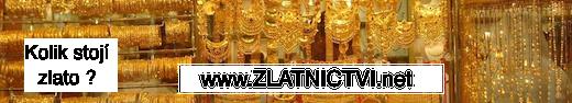 www.ZLATNICTVI.net Banner Vše o zlatě
